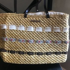 Roxy Beach Bag Straw